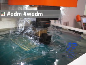 edm - elektrodrążenie - EDM - WEDM - electrical discharge machining